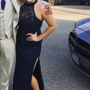 Prom dress, 2 piece. Worn once!